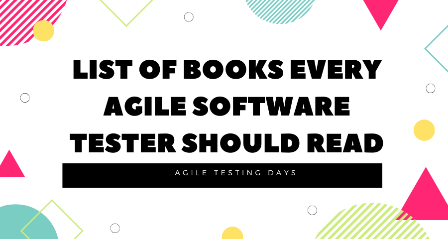 List of Books Every Agile Software Tester Should Read