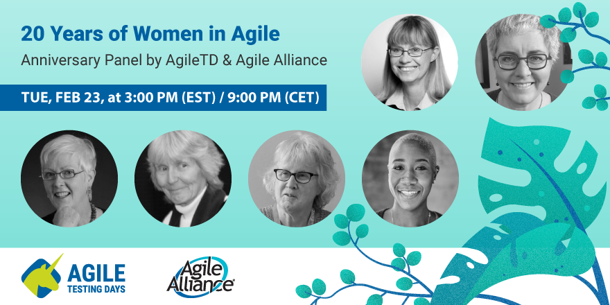 20 years of Women in Agile