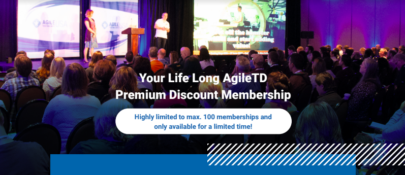 YOUR LIFE LONG AgileTD Premium Discount Membership