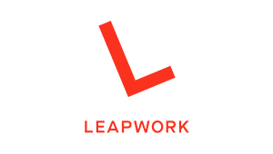 logo LEAPWORK A/S